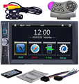 6.6 ''HD 2 Din Rádio Do Carro 2Din Tela de Toque MP5 Player Ligação Bluetooth Smart Phone Estéreo MP3 Player de Rádio/MP4/Vídeo/Áudio/USB