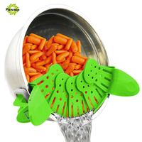 Creative Foldable Multifunction Funnel Pan Strainer Pot Bowl Baking Wash Rice Colander Kitchen Accessories Gadgets Cooking