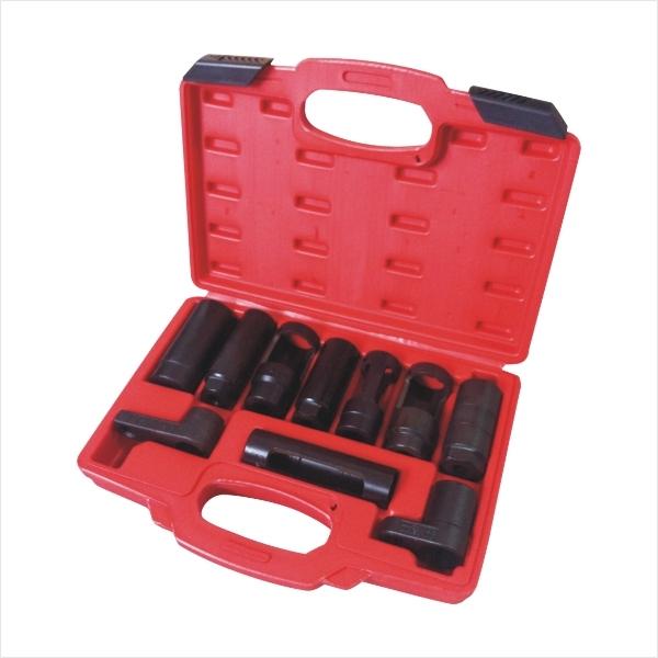 Sensor de oxígeno y Eliminación De Inyección Diesel Socket Set Con Estuche