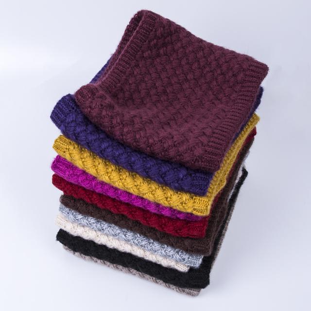 2018 Fashion Winter Scarf For Women Men Children Baby Scarf Thickened Wool Collar Scarves Boys Girls Neck Scarf Cotton Unisex
