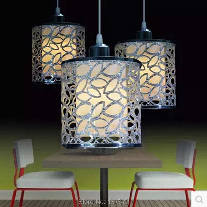 ФОТО 3W Vintage retro pendant lights LED lamp AC85-265V lighting hanging light fixture with LED bulb