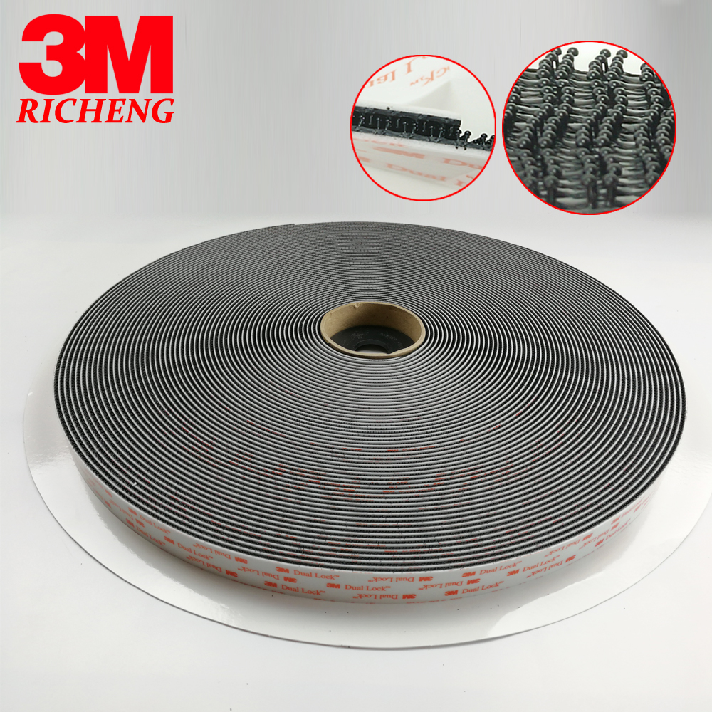 3M SJ3550 adhesive Sotchmate fasterners with acrylic acid Dual Lock tape 1in*50yards 3M SJ3550 adhesive Sotchmate fasterners with acrylic acid Dual Lock tape 1in*50yards