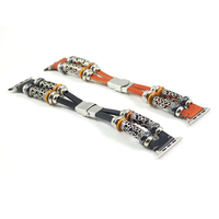 Hot Etsy 100 Handmade Beads Bracelets Belt Band For Apple Watch 42mm 38mm Band Series 1