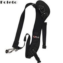 Foleto Focus F1 Quick Rapid Camera strap Single Shoulder Sling Black Belt Strap For canon nikon DSLR 7D 5D Mark II D800 A77 60D
