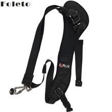 Foleto Fokus F1 Schnell Schnelle Kamera band Einzelnen Schulter Sling Black Belt Strap Für canon nikon DSLR 7D 5D Mark II d800 A77 60D