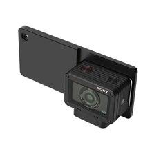 Montagem de alumínio Adaptador de Montagem Placa de Montagem para DJI Osmo mobile/Zhiyun Lisa Q/Smartphone Adaptador cardan para Sony DSC-RX0