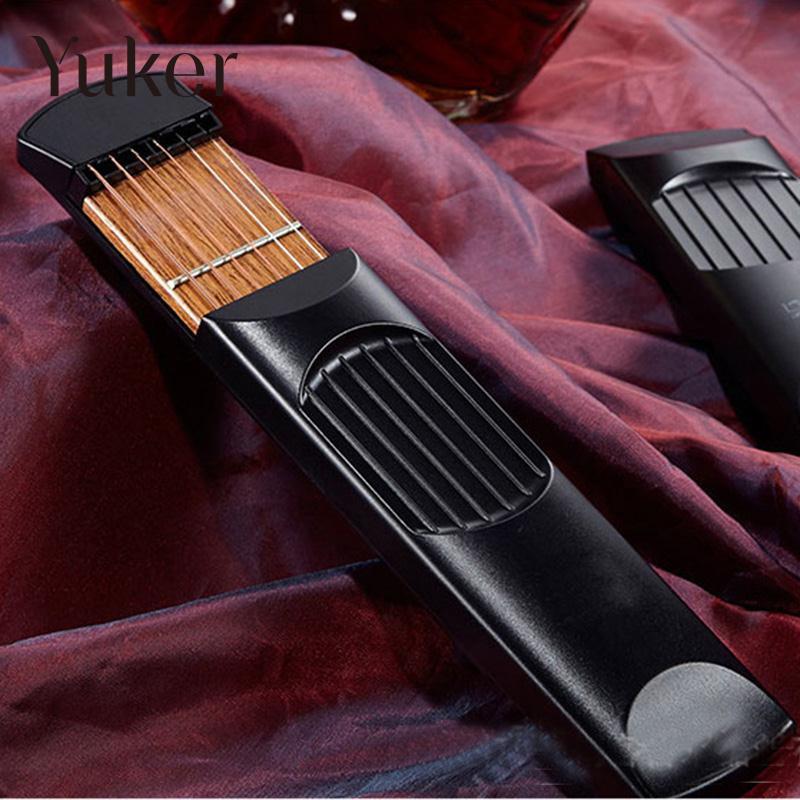 Yuker Portable Pocket Guitar Practice Gadget Tool Guitar Chord Trainer Parts