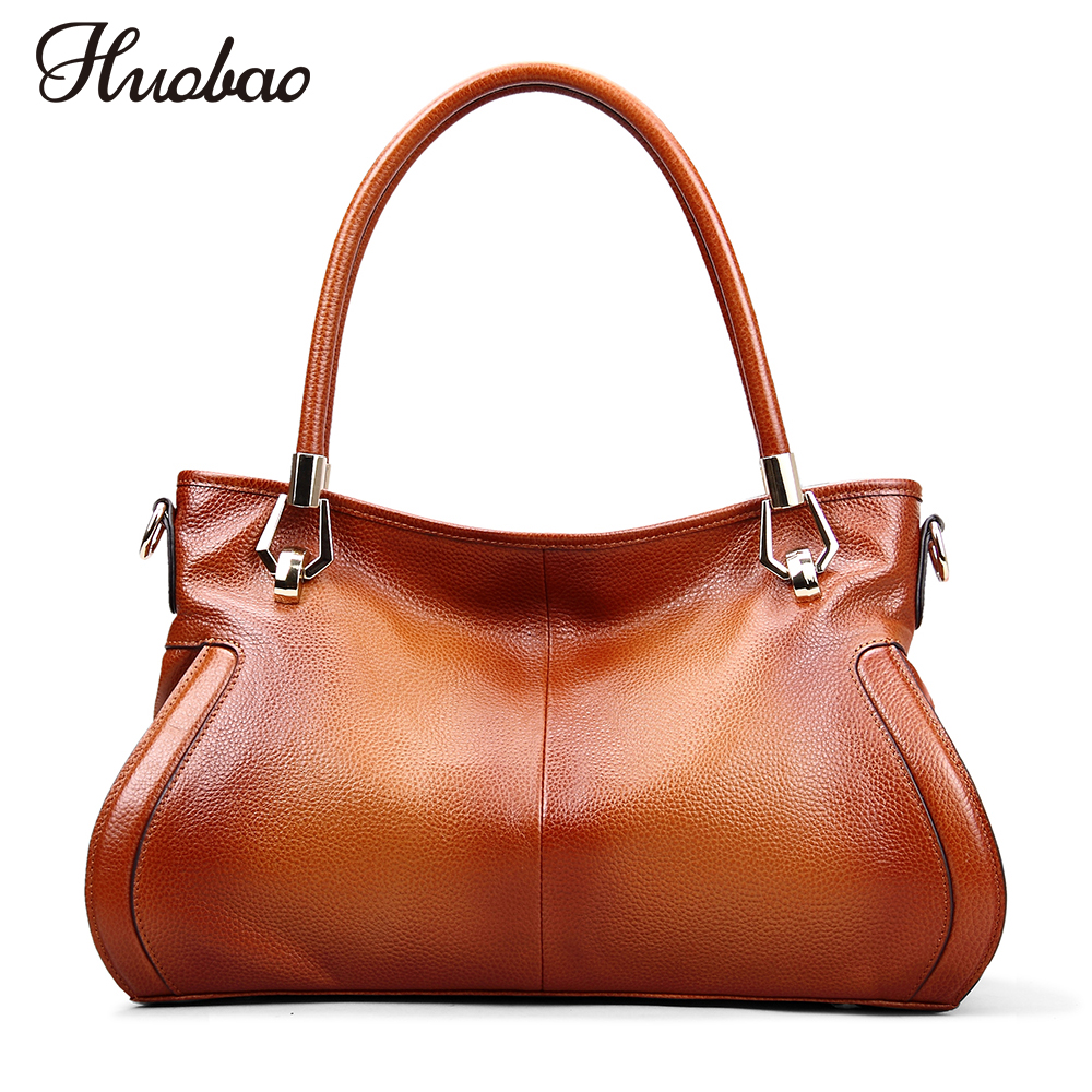 Women Handbags Genuine Leather Bags 100% Soft Cow Leather Vintage Women Messenger Bag Luxury Designer Shoulder Bags Bolsos mujer luxury brand women s genuine leather handbags for women bag designer vintage soft cow brown messenger shoulder bags female tote