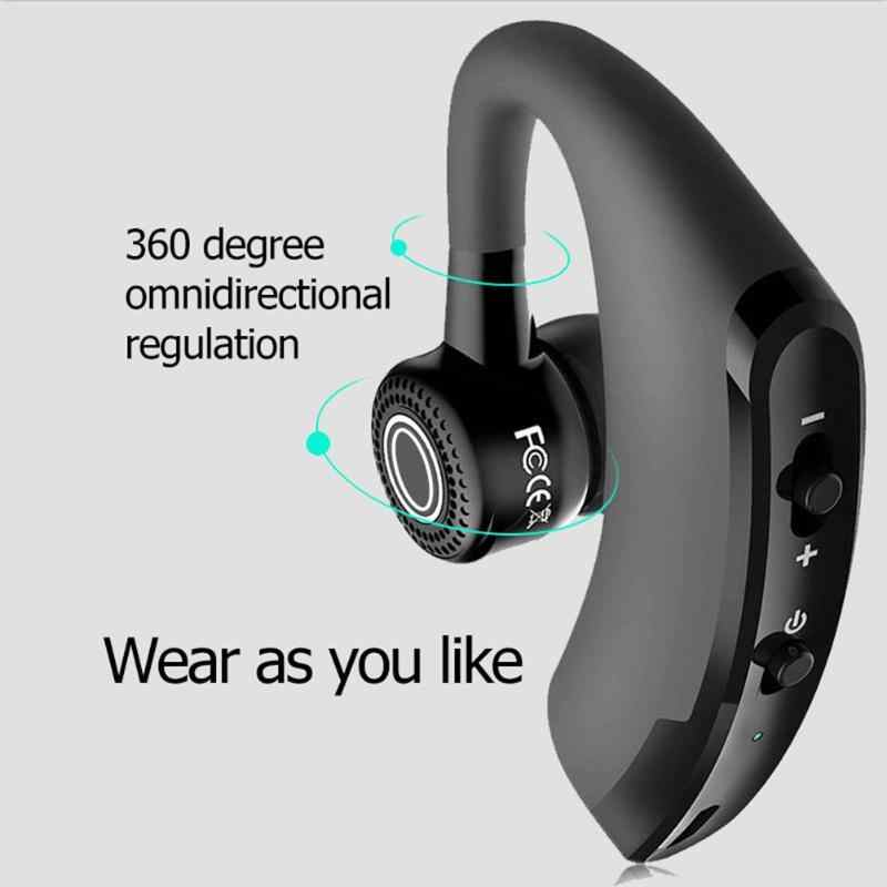 V9 Smart Bluetooth Bisnis Mic Headset Low-Power Mengemudi Handsfree Headphone