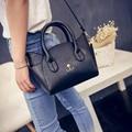 2017 Women's Handbags Bags Handbags Women Famous Brands Bag Ladies Leather Bolsa Feminina De Marca Famosa Bolsa sac a main black
