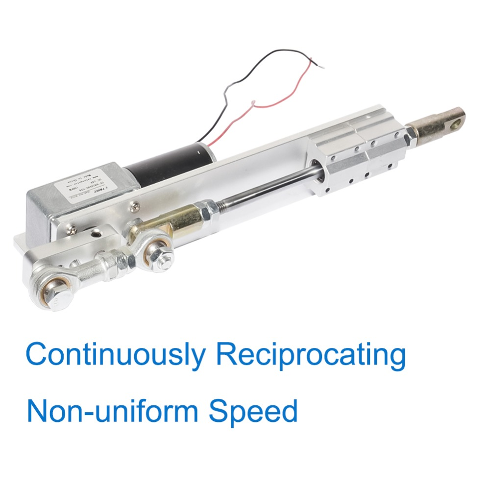 Custom Made Reciprocating Cycle Linear Actuator DC12V 24V Stroke 30-70mm For DIY