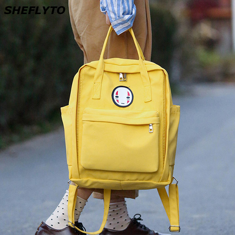 2018 Luxury Brand Women Kanken Backpack Printing School Bag for Women Big Laptop Backpack for College Student Travel Bag Mochila 2018 korean new female oxford school backpack brand laptop backpack women kanken backpack fashion lady shoulder mochila travel