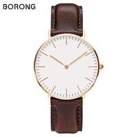 Luxury Brand Mens Steel Bracelet Quartz Watch Fashion Rose Gold Man Dw Watch Style Men Dress