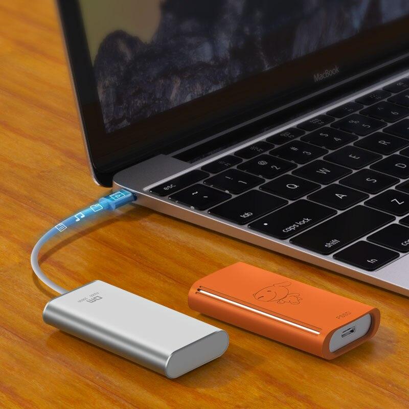 Disque dur externe DM SSD 256GB SSD 512GB disque dur externe Portable SSD hdd pour ordinateur Portable avec USB 3.1 de Type C - 5