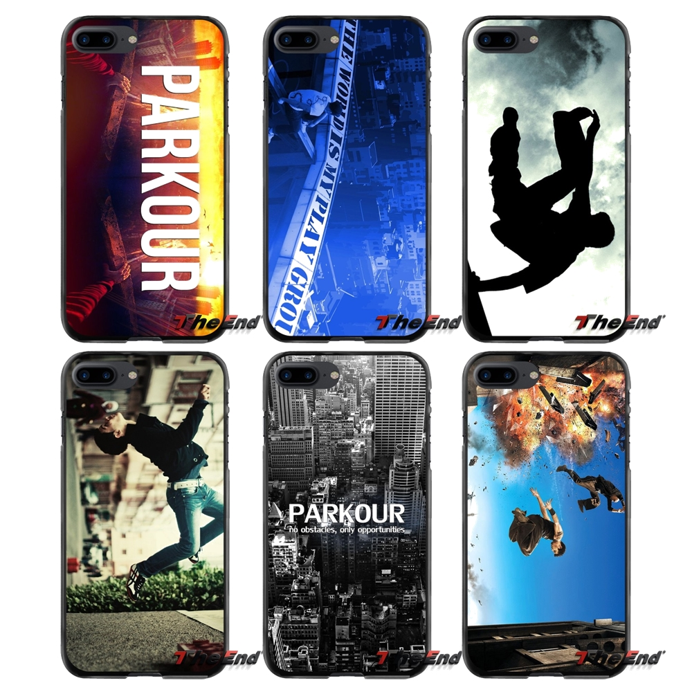 For Apple iPhone 4 4S 5 5S 5C SE 6 6S 7 8 Plus X iPod Touch 4 5 6 Parkour Accessories Phone Cases Covers