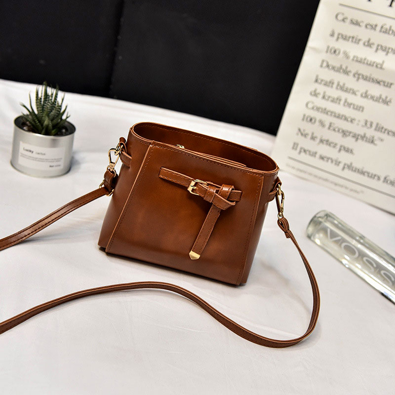Female Shoulder Little Ladies Bucket Bags Women Handbags Brands Cross Body Tote Bag Famous Brand Retro Luxury Messenger