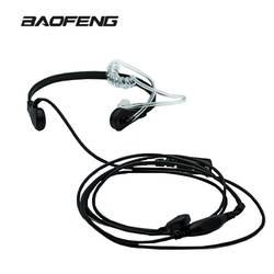 Новый бренд Горло микрофона горло вибрации гарнитура для двухстороннее радио BaoFeng UV-5R UV-82 UV-B6 BF-888S портативная рация наушники