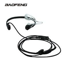 Новый бренд горло микрофон горло Вибрация гарнитура для приемопередающей радиостанции BaoFeng UV-5R UV-82 UV-B6 BF-888S наушники для рации