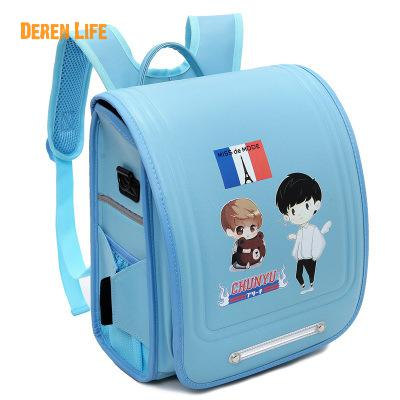 ФОТО High Quality School Bags For Boys Girls Children Backpacks Leather Primary Student Backpack Waterproof School Bag Book Bag Zaino