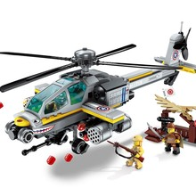 280pcs Military Battle Sea Force Apache Raid 3 Figures Educational Bricks Toy Boy Gift недорого