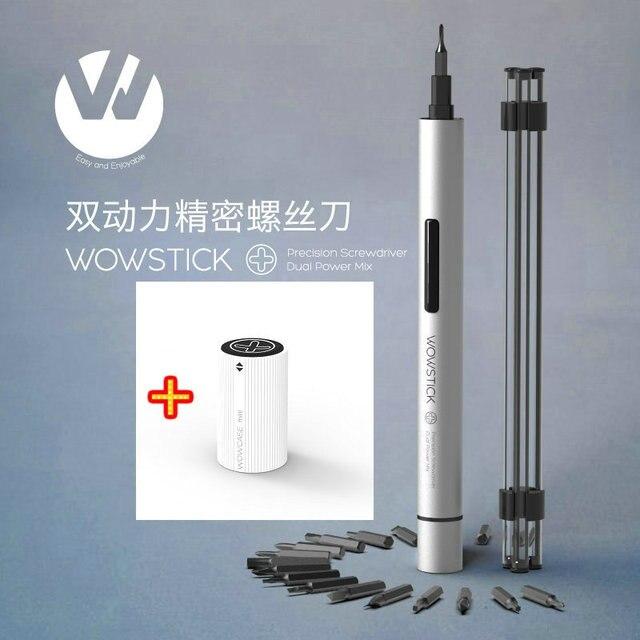 Wowstick 1 P + мини электрический отвёртки сплав средства ухода за кожей аккумуляторная батарея мощность с 18 бит для мобильного телефона Wowcase