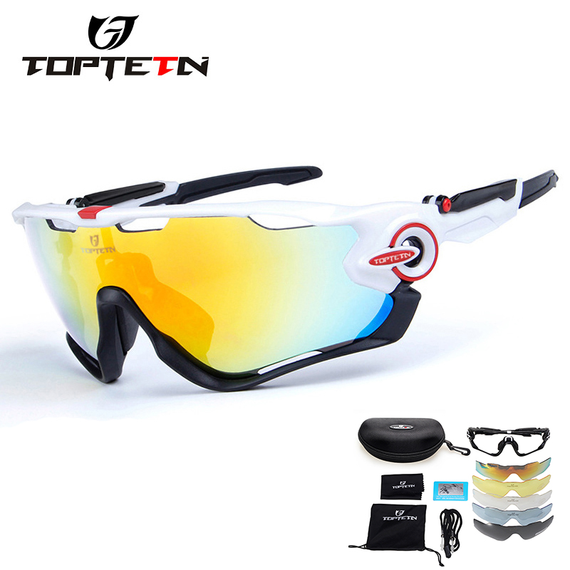 2018 Ski Goggles Hot Uv400 Polarized Cycling Glasses Sport Outdoor Sun Mountain Bike Bicycle Sunglasses Goggle Eyewear 5 Lens nuckily pa01 uv400 protection outdoor cycling polarized sunglasses goggles yellow red