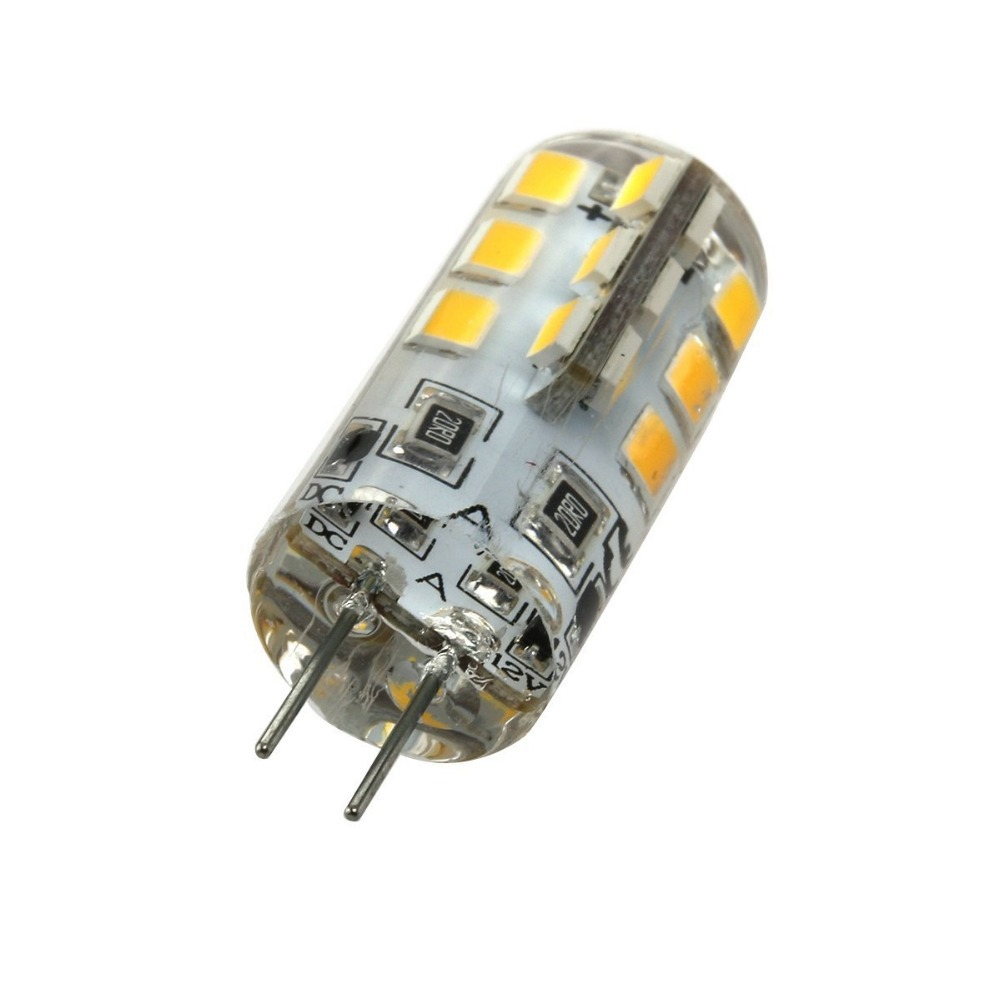 4 Pack AC110V G9 LED Lamp Light 18W Halogen Bulbs Equivalent Daylight White 6000K Crystal Spotlight Bulb for Fixture Chandeliers Pendant LXcom Dimmable G9 LED Bulb 1.8W COB Light Bulbs