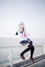 kantai collection Cosplay Costume The sixth destroyer Sailor Suit Full Set