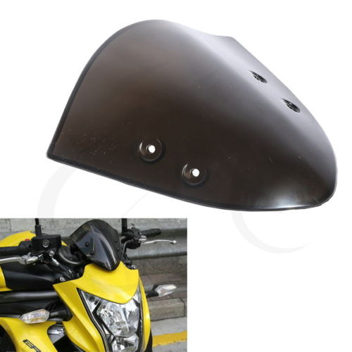 Motorcycle Smoke PMMA Screen Windscreen Windshield Flyscreen For Kawasaki ER 6N ER6N 12-14 kawasaki er 6n 2013