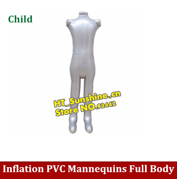 High Quality Inflatable model Mannequins Inflatable model Full Body Inflatable Child Mannequin for Designing Clothes Displays new female 3 4 body inflatable mannequin torso dummy model dress fashion display