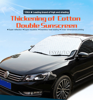 Winter Car Window Sunshade Car Snow Covers For SUV Ordinary Car Sun Shade Reflective Foil