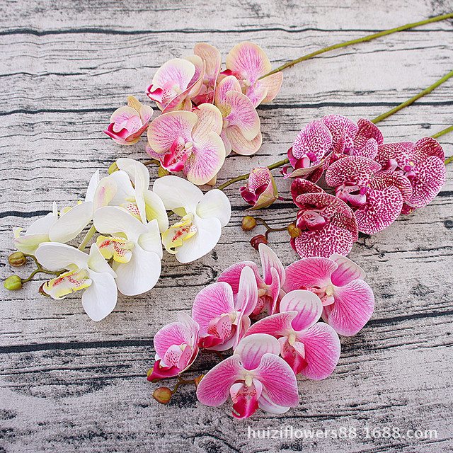 Artificial Butterfly Orchid Flowers – Home Decoration