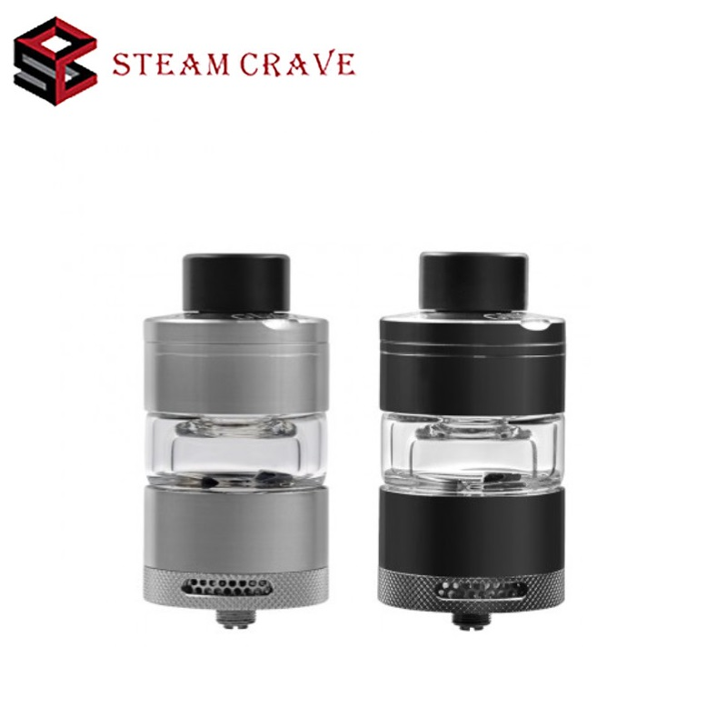 где купить Original Steam Crave Glaz RTA Atomizer 7ML Tank Capacity Bottom Angled Airflow Dual Coil RTA E-cigarette Huge Vape Atomizer RTA по лучшей цене