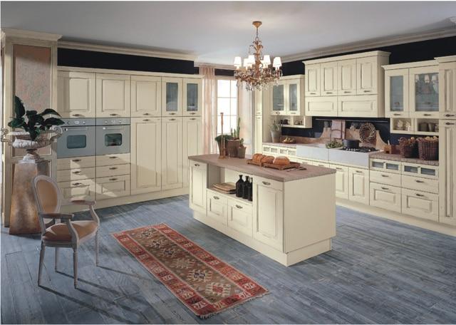 2017 pr fabriqu cuisine armoire en bois massif armoires de cuisine modulaire meubles. Black Bedroom Furniture Sets. Home Design Ideas
