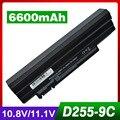 6600 mah batería del ordenador portátil para acer aspire one 722 ao722 ao532h d255 D255 D255E happy2 feliz para GATEWAY LT23 LT25 LT27 LT28 LT40