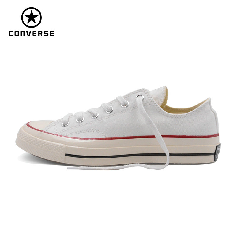 new 1970s Original Converse all star shoes white color Retro classic men women unisex sneakers low classic Skateboarding Shoes new converse chuck taylor all star ii low men women s sneakers canvas shoes classic pure color skateboarding shoes 150149c
