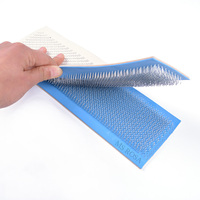 MS ROSA Hair Holder Drawing Mat For Bulk Hair Extension Tools PU Skin Pad Holder Professional Tools For Making Lace Wigs