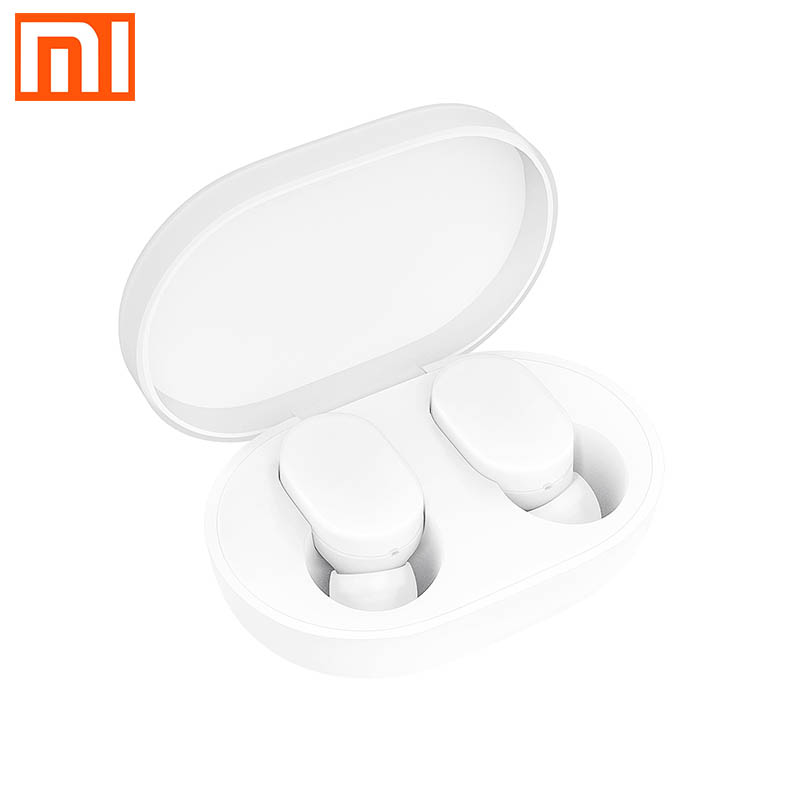 Original xiaomi Bluetooth headset AirDots youth version elegant and simple Split headset storage charging box Bluetooth 5.0 touc