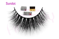 Free Shipping SUNDOT Handmade Thick Long CUSTOM PACKAGING Fake Lashes Beauty 3d Mink Strip Eyelashes