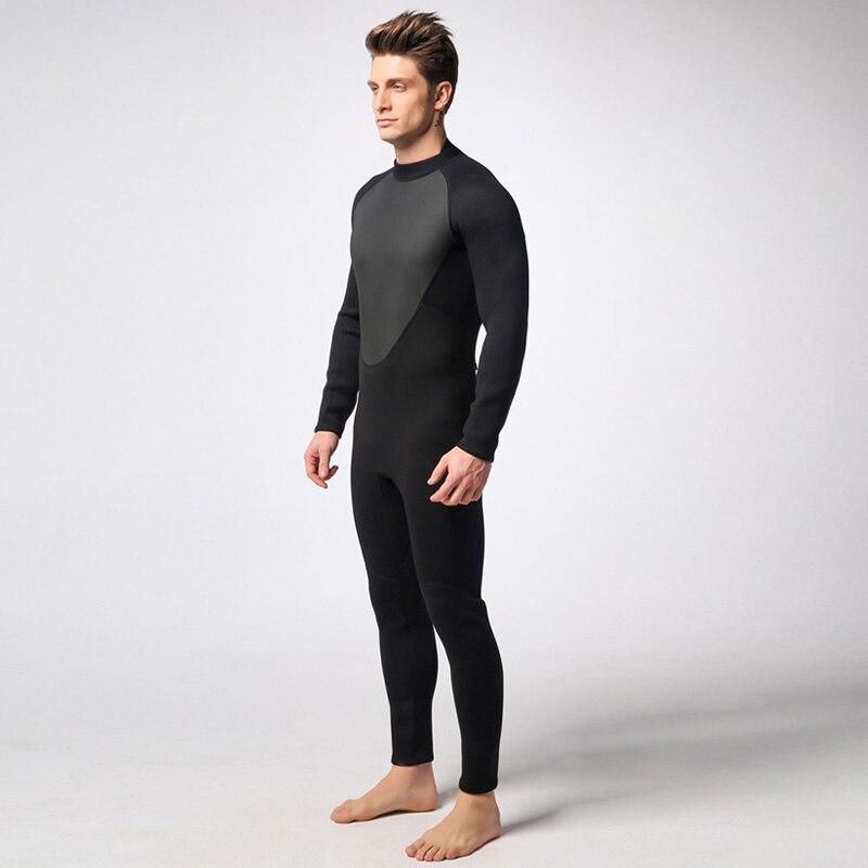 Combinaison de plongée sous-marine 3 MM néoprène combinaison de plongée en apnée Triathlon imperméable à l'eau garder au chaud Anti-UV pêche Surf combinaisons