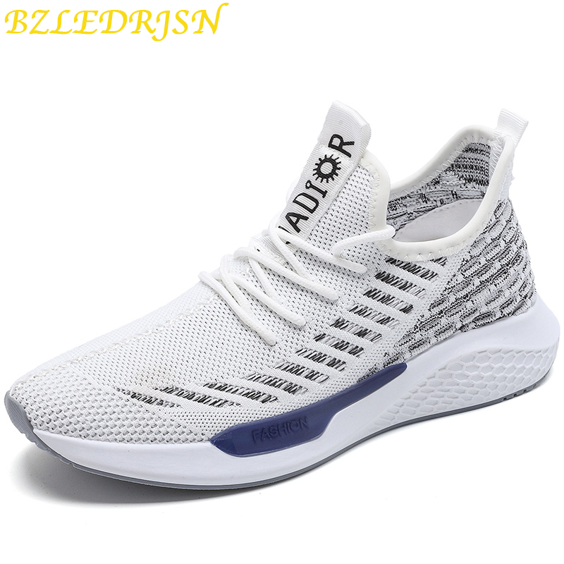 New Arrival Brand Designer Sport Running Shoes flyknit Lightweight Breathable Sneakers Spring trainer