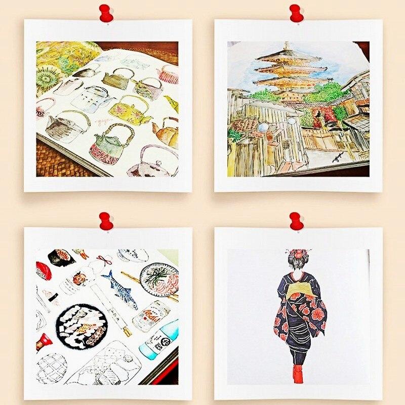 JAPON secreto de KYOTO ocio libro para colorear moda Antistress ...