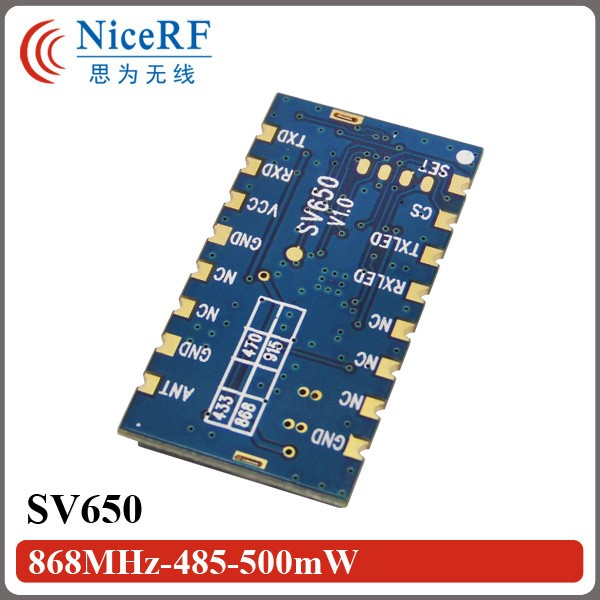SV650-868MHz-485-500mW
