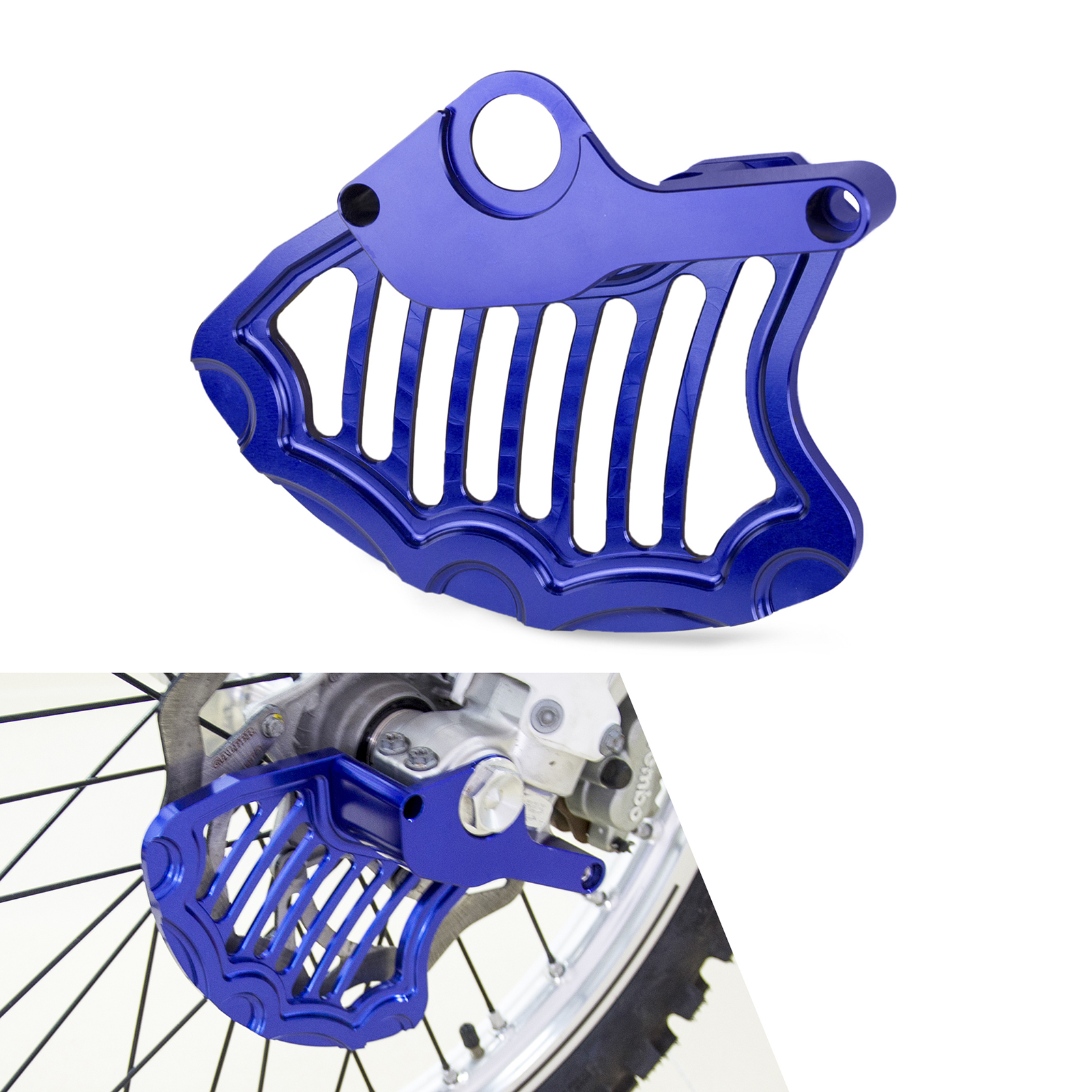 NICECNC CNC Front Brake Disc Guard Cover For Husqvarna TE TC TX FE FC FX FS 125 150 200 250 300 350 390 400 450 501 Husaberg 570 motorcycle front rider seat leather cover for ktm 125 200 390 duke