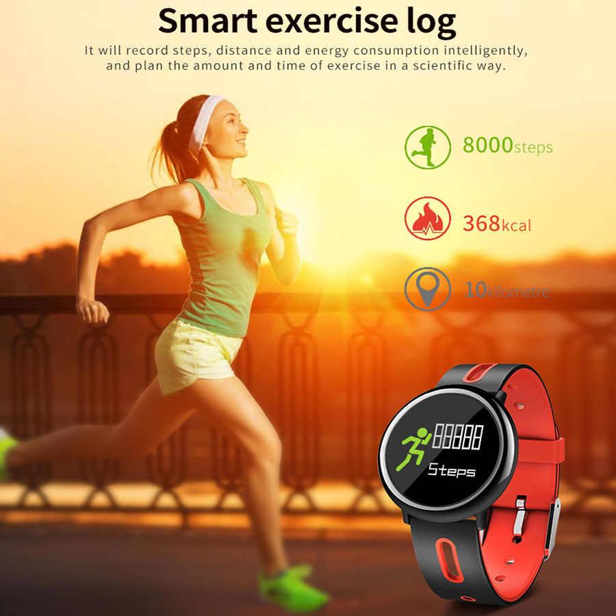 لسامسونج غالاكسي A5 A3 J7 J5 J3 J1 الرياضة الذكية سوار الفرقة القلب معدل ضغط الدم الأكسجين اللياقة البدنية تعقب الذكية معصمه