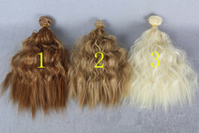 3Pcs lot NEW Corn Curly Wavy Doll DIY Wigs For 1 3 1 4 1 6