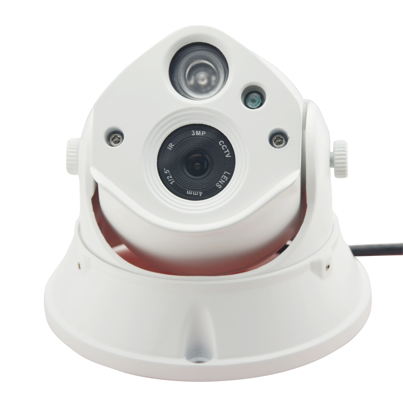 ФОТО POE audio HD 720P 1MP 1IR interior dome lamp night vision security onvif P2P IP Camera