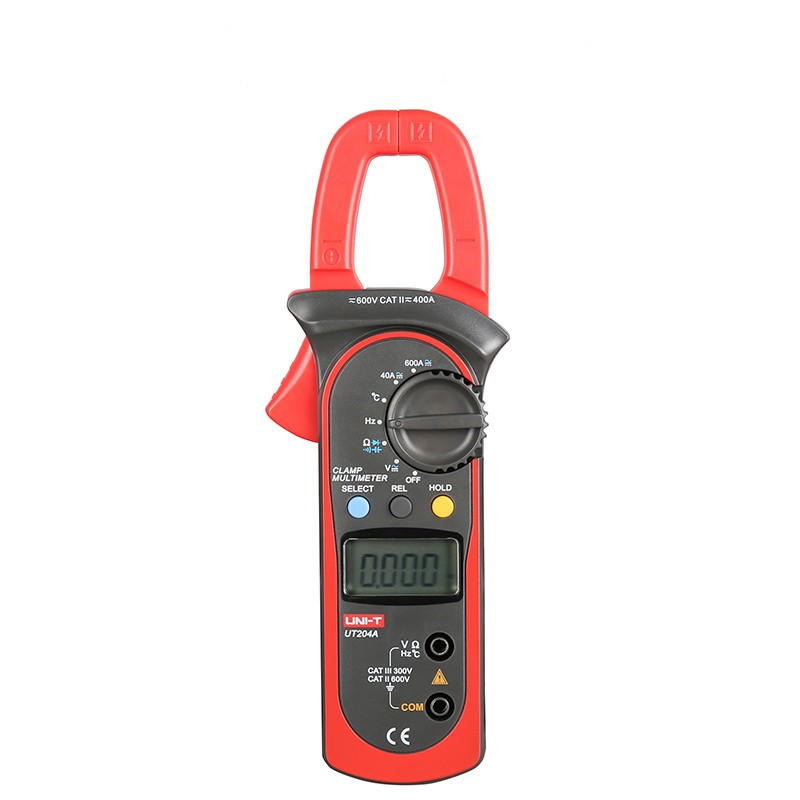 UNI-T Clamp meter UT204A ac dc current clamp meter V/F/C Measurement clamp multimeter LCD digital clamp meter ut204a ut-204a цена