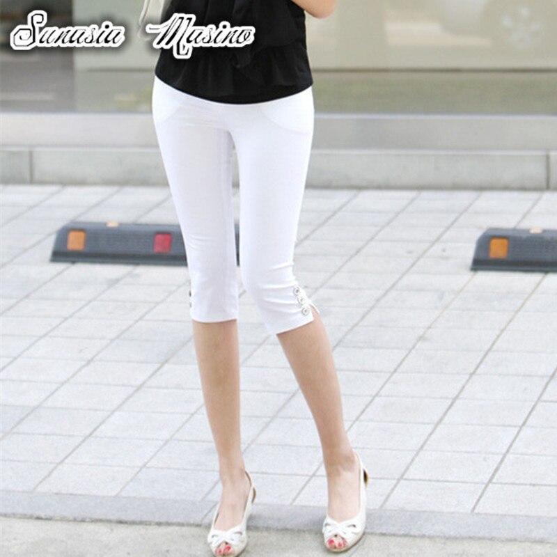 pencil pants capris trousers women moda mujer 2018 summer women befree plus size pants