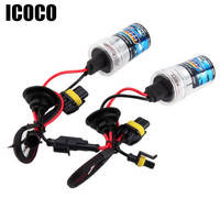 ICOCO NEW 2Pcs 2 Pcs Car Auto Replacement Xenon H1 H4 H11 35W Head Light Bulb
